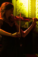 Susan Voelz on violin.